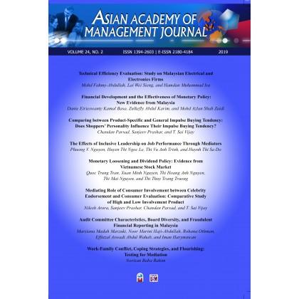 Asian Academy of Management Journal Vol. 24, No. 2 (2019)